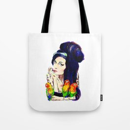 Miss Winehouse Tote Bag