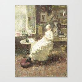 Annie Hall te Lissadell, Surrey, Jan Toorop, 1885 Canvas Print