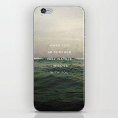DEEP WATERS iPhone & iPod Skin