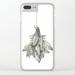 Dried Herbs Clear iPhone Case