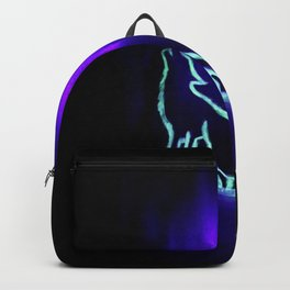 Glow Crying with the Wolves Backpack