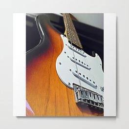 Stringless Guitar  Metal Print