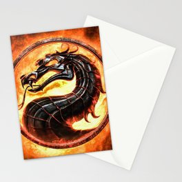 MK Video Game Stationery Cards
