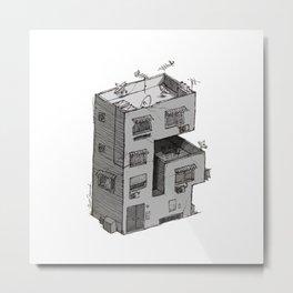 G - Alphabet Town Metal Print