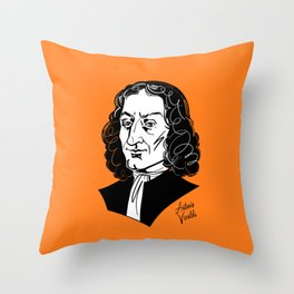 Antonio Vivaldi Throw Pillow