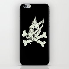 Dog & Crossbones iPhone & iPod Skin
