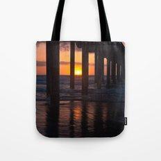 Sunset Captured Tote Bag