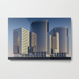 skyscraper skyscrapers building Metal Print