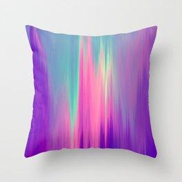 Beautiful Mermaid Colors Throw Pillow