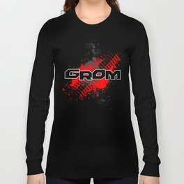 GROM, Red Long Sleeve T-shirt