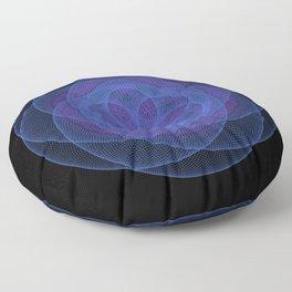 Omnigeo#2 - Geometric Pattern Floor Pillow