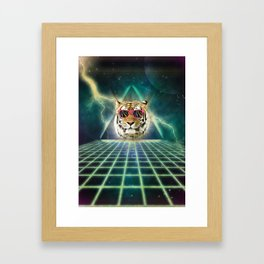 Retro80 is the new wave Framed Art Print