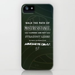Path of Most Resistance iPhone Case