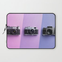 Multiple vintage cameras Laptop Sleeve