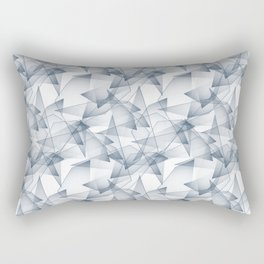 Abstract pattern.the effect of broken glass. Rectangular Pillow