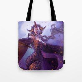 Moon Sorceress Tote Bag