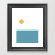 The Pacific Ocean Framed Art Print