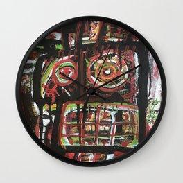 La Fe de Clarita Wall Clock
