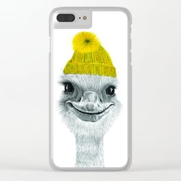 Ostrich Clear iPhone Case