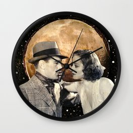 Come Lie With Me Wall Clock