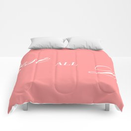 rose all day Comforters