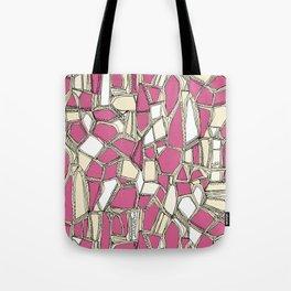 BROKEN POP pink Tote Bag