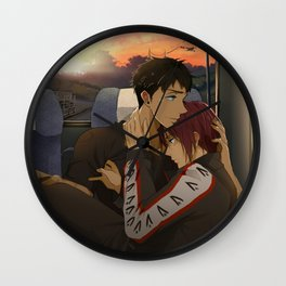Sourin: Bus Journey Back Wall Clock