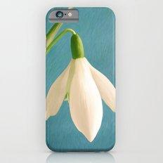 Single Snowdrop Slim Case iPhone 6s