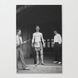 Three WVU Students Canvas Print