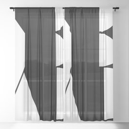 Yeah / More than Shape  Sheer Curtain