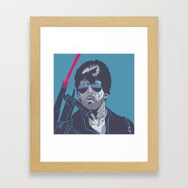 Cobra - Stallone Framed Art Print