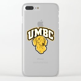 UMBC The house Clear iPhone Case