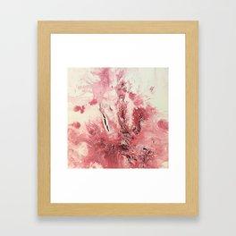 Exploding Roses Framed Art Print