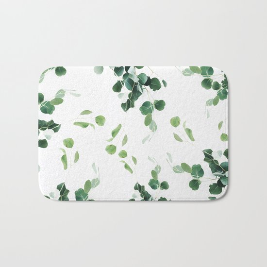Botanical Celebration #society6 #decor #buyart Bath Mat