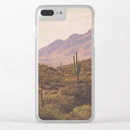 Wild West II Clear iPhone Case