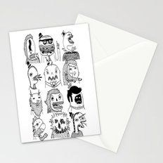 Monster Meet Up Stationery Cards