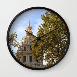 Les Invalides Wall Clock