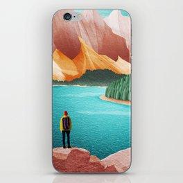 DREAM VACATION / Alberta, Canada iPhone Skin