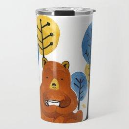 Coffee Bear Travel Mug
