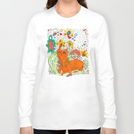 Noodle and Pony relaxing Long Sleeve T-shirt