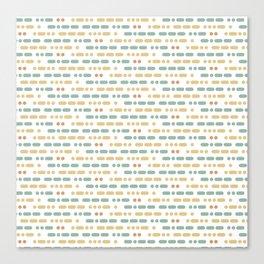 I Love You Morse Code Canvas Print