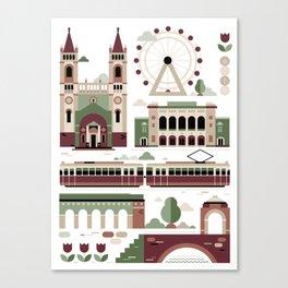 Vienna / Wien Canvas Print