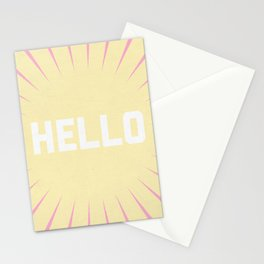 Hello Summer Stationery Cards