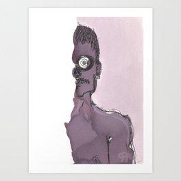 Zombie in Wine Art Print
