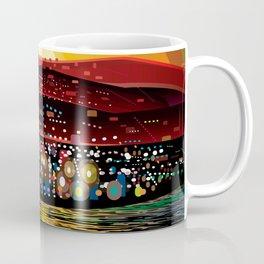 Angel Island Sunset (Square) Coffee Mug