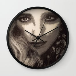 Supernatural: Claire Novak Wall Clock