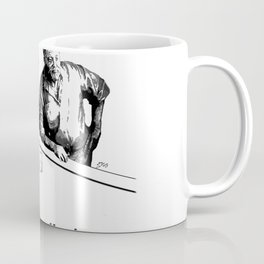 James Joyce x Ernest Hemingway - Drunken Shenanigans Painting Coffee Mug