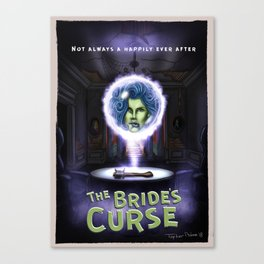 The Brides Curse by Topher Adam 2018 Canvas Print