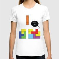 tetris T-shirts featuring Tetris by Digital Sketch