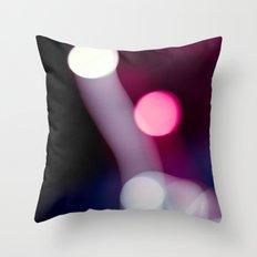 Bokeh Fireworks Throw Pillow